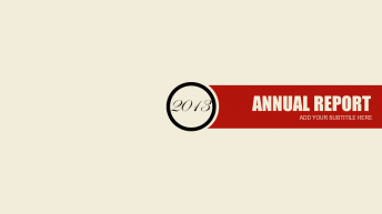 2013复古红黑简约商务汇报总结PPT模板