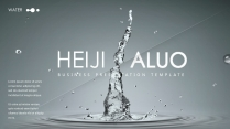 【水】质感高端创意可视化多功能多排版时尚模板