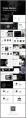 高端欧美风炭黑时尚通用PPT模板示例4