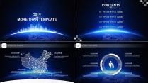 【动态】IOS风格超实用大气简约图形化商务报告17