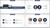 大气极简点线创意商务模板第二十九弹示例3