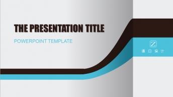 精致实用半立体风格PPT模板(第32部)示例4