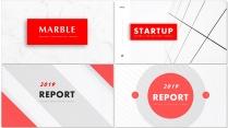 红色现代简约商务汇报创意多排版商务模板【含四套】