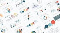 【多彩商务图表30页02】创意关系图表 简约多色