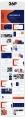 【经典商务】潮流蓝桔商务科技实用主义PPT模板6示例8