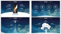 【动态】IOS风格超实用大气简约图形化商务报告26示例5