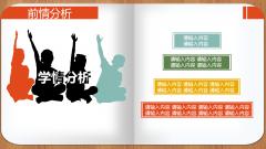 小清新说课模板示例6