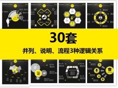 简约大气商务报告信息化图表(30套)--第三部