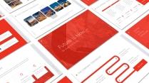 【RED】红色(五十二)工作总结模板【261】