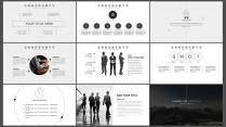 简约时尚商务汇报企业总结工作计划商务演示培训讲座示例5