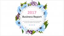 【小清新】简约商务通用报告模板12