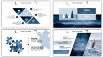 水纹-大气简约通用商务报告策划模板示例6