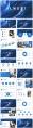 【抽象水彩】简约商务图文混排模板示例4