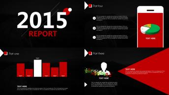 2015商务实用总结汇报PPT模板 03