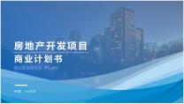 【专业级】房地产项目 商业计划书