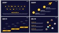黄色大气框架完整商业计划书(附教程)示例6