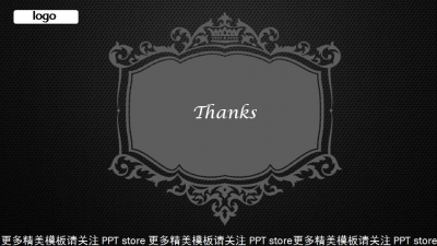 【欧式风格模板ppt模板】-pptstore图片