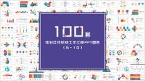 100套炫彩年终总结工作汇报PPT图表合集2