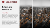 【灰色极简】红灰简洁大气商务模版示例5