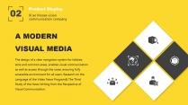 【你是真的黄】设计感商务实用多用途模板2示例5