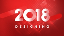 【創意排版】大氣簡約紅色年終總結新年計劃商務匯報模