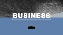 【淡雅简洁】杂志风极简柔和色系商务模板示例2