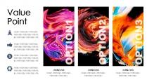 【流动油彩】创意时尚艺术品牌潮流未来视觉大气模板示例4