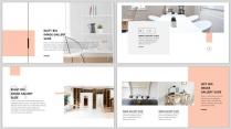 【时尚•简约】杂志式排版PPT模板03(占位符形式