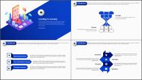 【商务中国】2.5D科技公司企业工作总结汇报PPT示例4