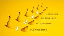 【年终报告】黄色设计创意欧美简约商务PPT模板示例3