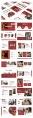 【流行趋势】红色渐变大气商务通用模板示例3