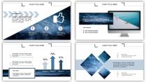 水纹-大气简约通用商务报告策划模板示例4