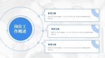 【商务】蓝色极简年终总结及工作规划14示例4