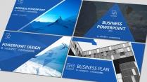 蓝色工作报告PPT模板合集【六】含四套