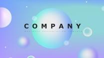 【抽象几何】现代商务汇报工作计划企业策划模板01
