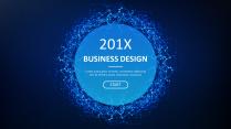 【科技美学-01】简约大气通用商务报告模板|蓝色