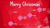 【圣诞新年】红白庆典个性时尚多边形节日拼贴p示例6
