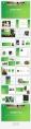 【極簡風】綠色漸變雜志風PPT商務模板示例5