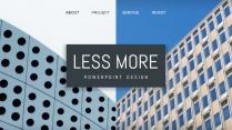 【三种版本】创意极简分屏设计商务工作通用PPT模板