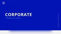【极简风】蓝色欧美杂志风网页工作汇报商务PPT模板示例2