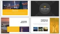 黄色杂志风商务汇报PPT模板示例7