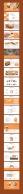 【轻扁平NO.20】面包黄美食商务模板示例7