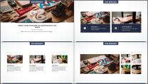 大气极简点线创意商务模板第二十九弹示例4