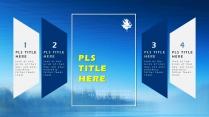 【藍色風格】簡約實用商業計劃書項目報告示例5