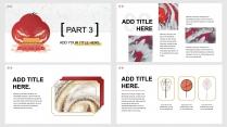 【国潮新中式】红白金搭配 汉字做装饰 手绘风元素 示例5