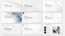 【现代几何】创意简约工作计划商务汇报模板【含八套】