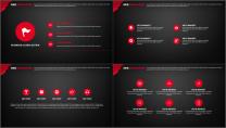 红与黑简约大气模板第四十四弹示例4