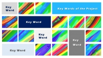 【色彩世界】欧美简约实用商业计划书项目报告示例5
