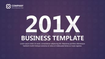 时尚紫色大气简约欧美商务策划报告提案科技通用模板