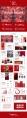 【红色】黑色欧美纯色简约扁平化年终总结模板示例3